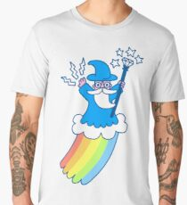 Rainbow Wizard Men's Premium T-Shirt