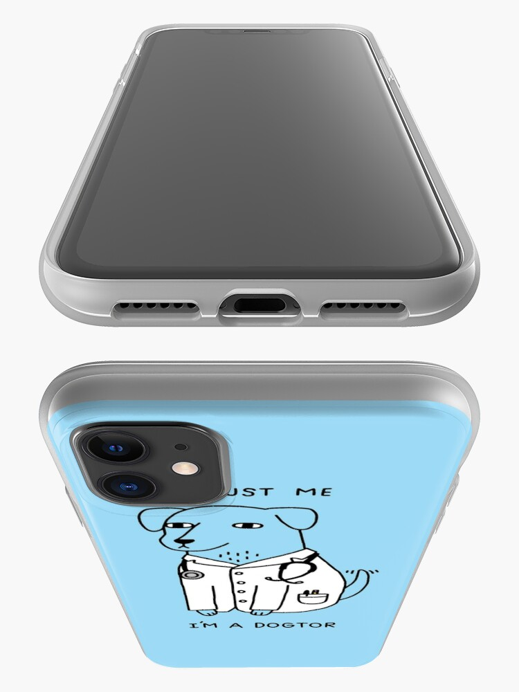 Alternate view of Dogtor iPhone Case & Cover