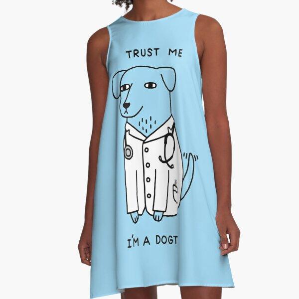 Dogtor A-Linien Kleid