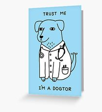Dogtor Greeting Card