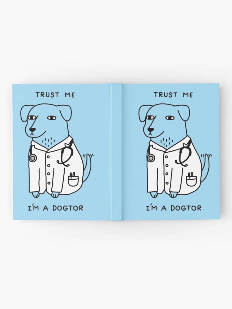 Alternate view of Dogtor Hardcover Journal