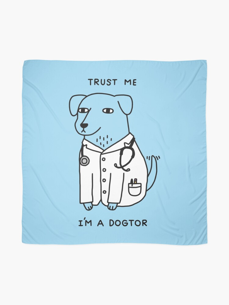Alternate view of Dogtor Scarf