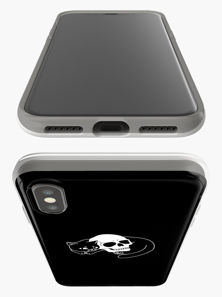 Alternate view of Spooky Cat iPhone Case & Cover
