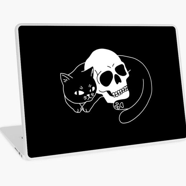 Spooky Cat Laptop Skin