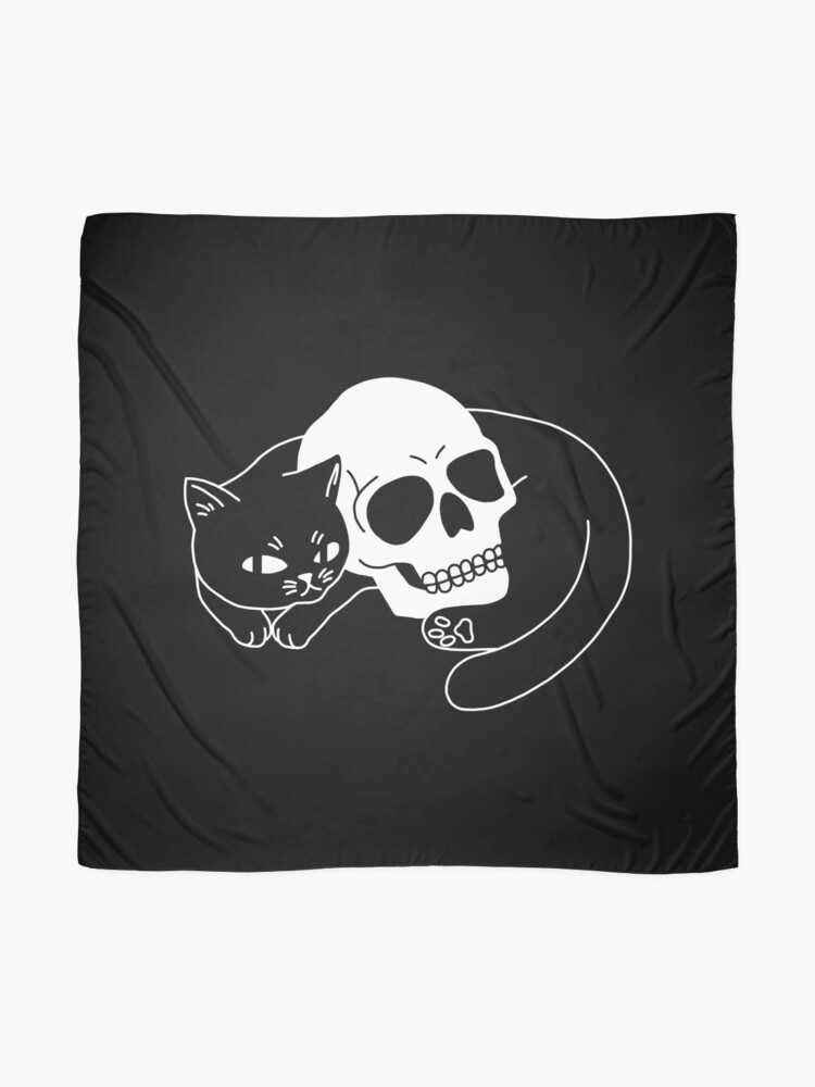 Alternate view of Spooky Cat Scarf