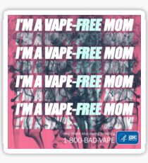 I'm a Vape Free Mom Sticker