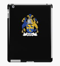 Barker Coat of Arms - Family Crest Shirt iPad Case/Skin