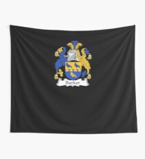 Barker Coat of Arms - Family Crest Shirt Wall Tapestry