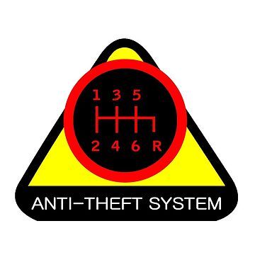 Anti-Theft System (Pattern 3) (dark) by ShopGirl91706