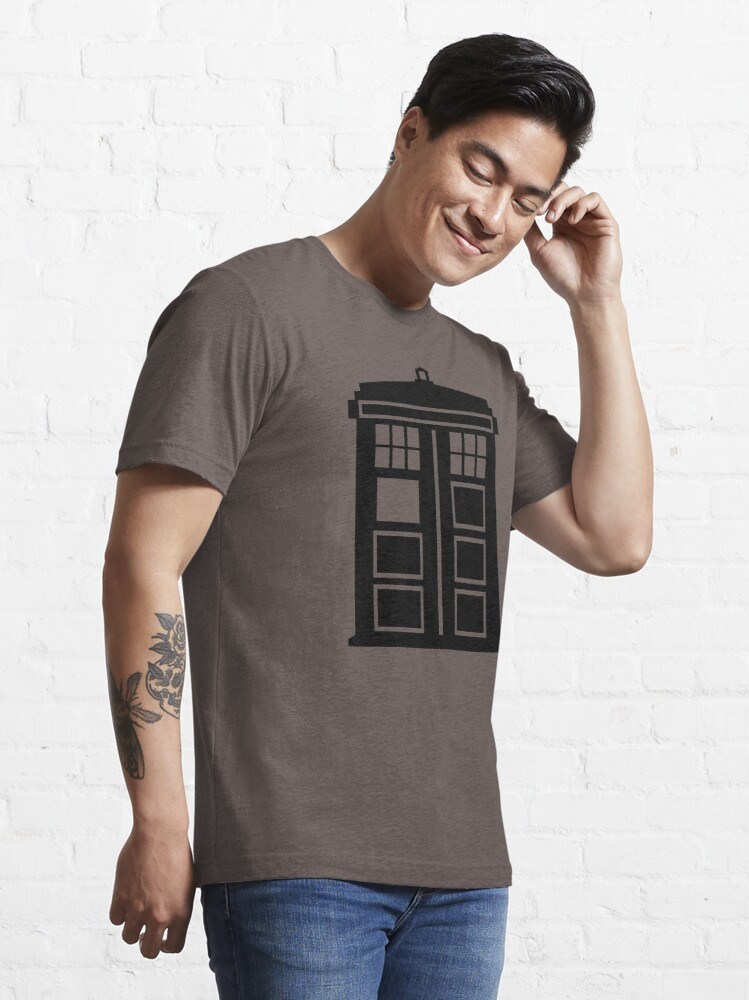 Alternate view of Doctor Who Tardis Essential T-Shirt
