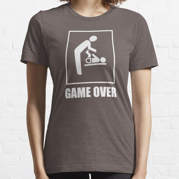 Daddy To Be is Game Over Essential T-Shirt