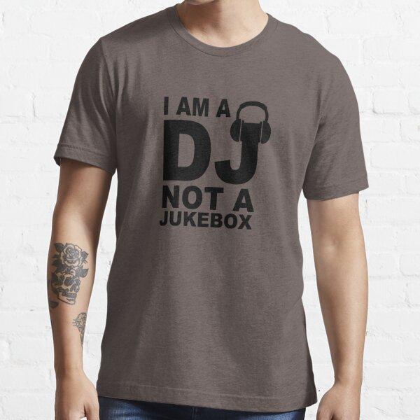 Dj Not A Jukebox Long Sleeve Essential T-Shirt