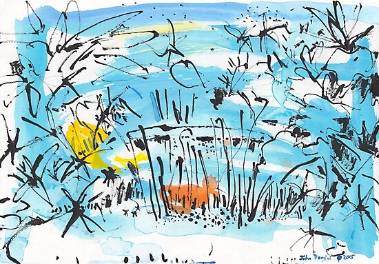 The Little Pond in the Park by John Douglas