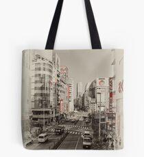 Shinjuku Streetscape Tote Bag