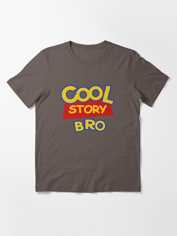 Alternate view of Cool Story Bro Essential T-Shirt