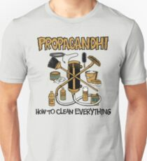 Propagandhi How To Clean Everything T-Shirt