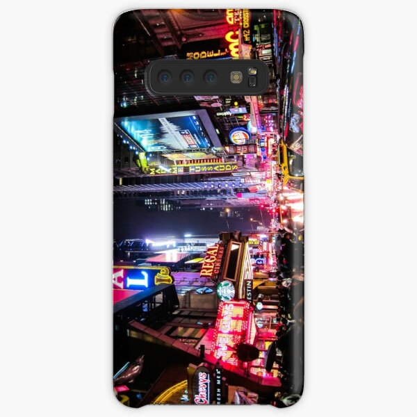 New York City Night Samsung Galaxy Snap Case