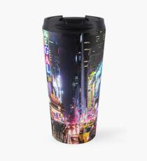 Taza de viaje Noche de la ciudad de Nueva York