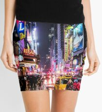 New York City Night Mini Skirt