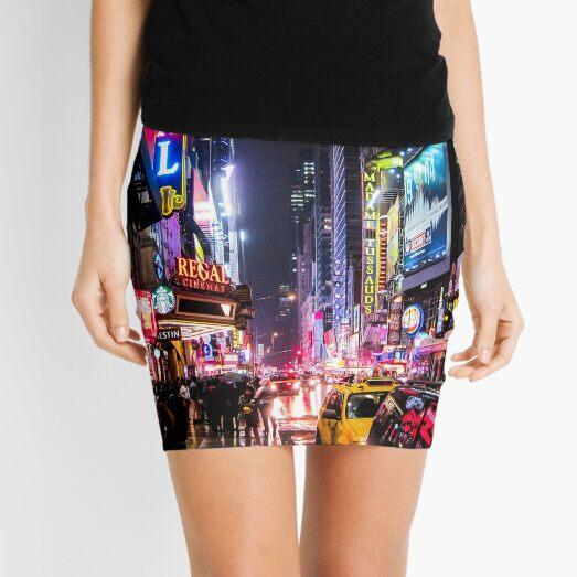 New York City Night Mini Skirt