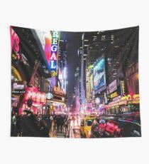 Tela decorativa Noche de la ciudad de Nueva York