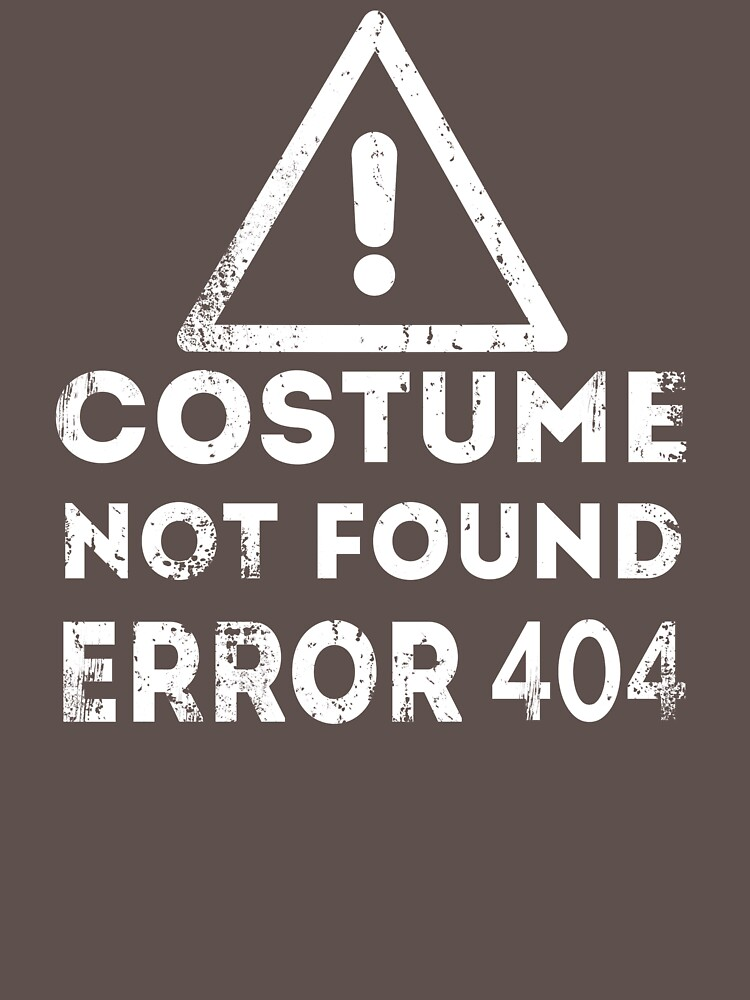 Costume Not Found Error 404 by Rithey79