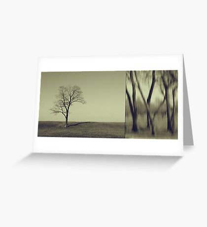Can You Hear My Silent Words Whispering Along the Wind? Greeting Card