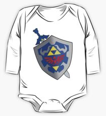 Sword and Shield One Piece - Long Sleeve