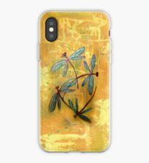 Dragonfly Haze iPhone Case