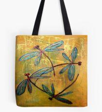 Dragonfly Haze Tote Bag