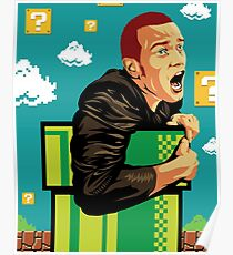 Trainspotting Mario Poster