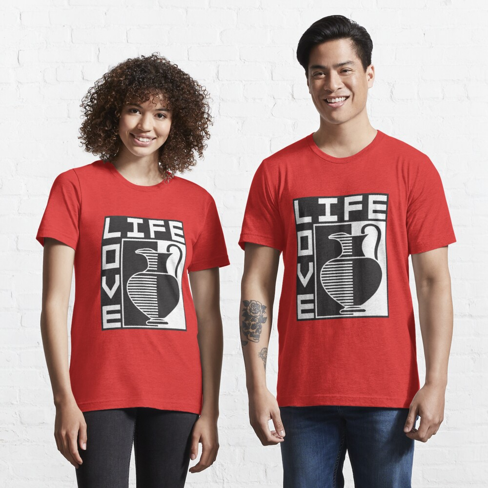 LIFE, LOVE, POTTERY Essential T-Shirt