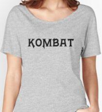 Kombat Women's Relaxed Fit T-Shirt