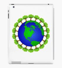 Ecology nature lover  iPad Case/Skin