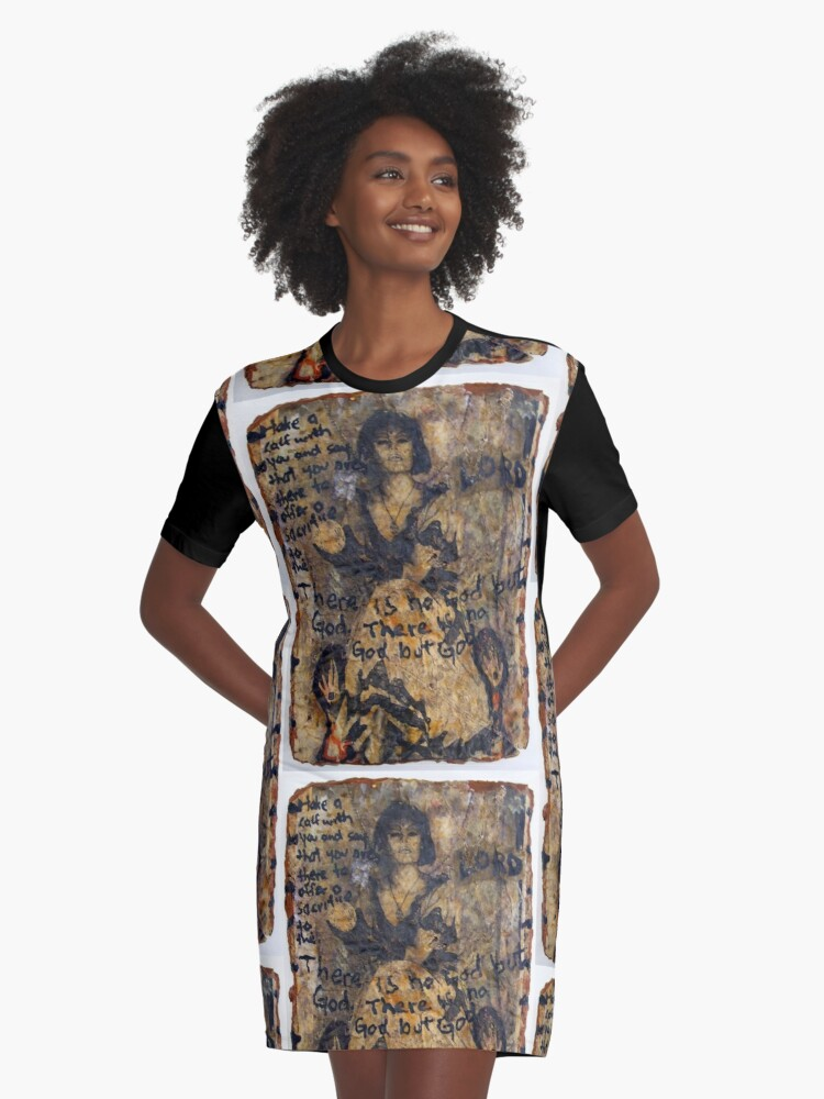 Love Amulets of the Clumsy Duchess 11 Graphic T-Shirt Dress Front