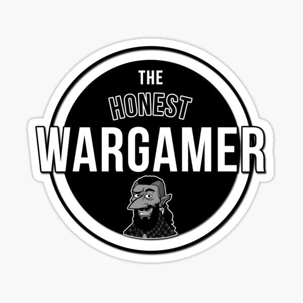 The Honest Wargamer Sticker