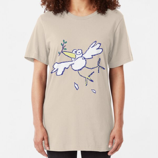 The Dove Is Getting Tired Slim Fit T-Shirt
