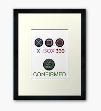 Playstation is a lie !!! Framed Print