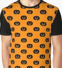 Halloween Jack O'Lantern Graphic T-Shirt