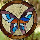 Butterfly Glass by Donna Adamski
