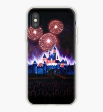 Fireworks over the Castle iPhone Case