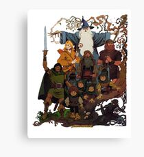 Fellowship of the Ring Canvas Print