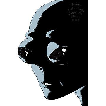 Alien Head by TomAsche