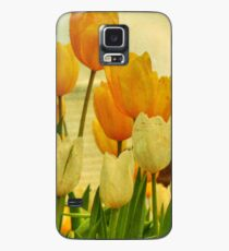 Yellow Tulips Case/Skin for Samsung Galaxy