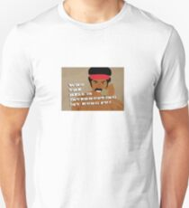Black Dynamite's Kung-Fu Unisex T-Shirt