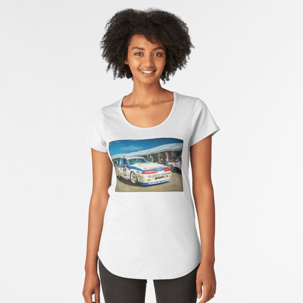 Garry Willmington Group A Commodore Premium Scoop T-Shirt