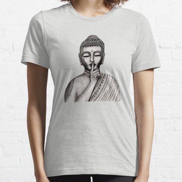 Shh ... do not disturb - Buddha - New Essential T-Shirt