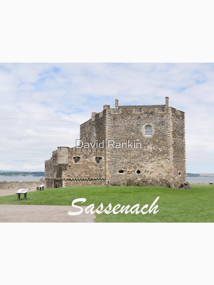 Blackness Castle - Fort William in Outlander by goldyart