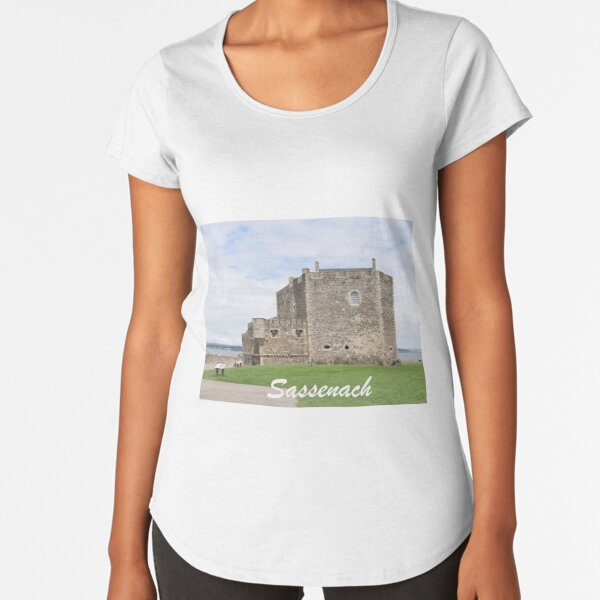 Blackness Castle - Fort William in Outlander Premium Scoop T-Shirt
