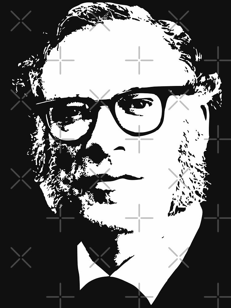 Isaac Asimov by idaspark